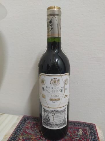 Vinho Marques de Riscal Rioja Reserva 2005